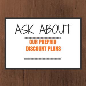 Discount plans