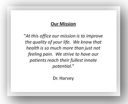 dr harvey chiropractic back pain 